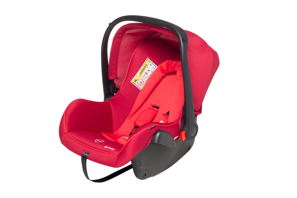 Britton Baby Way auto krēsls 0-13 kg - sarkans