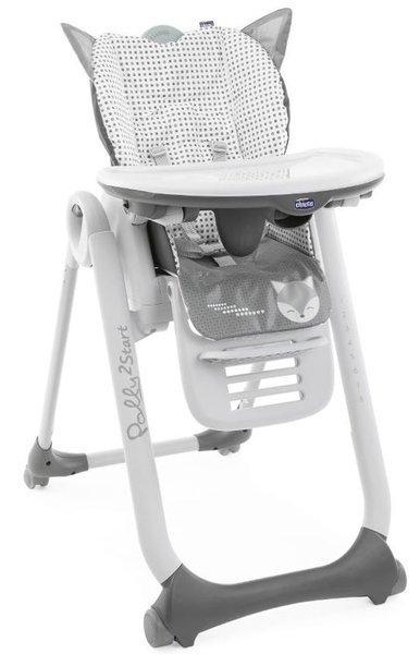 Chicco Polly 2 Start barošanas krēsls, Foxy