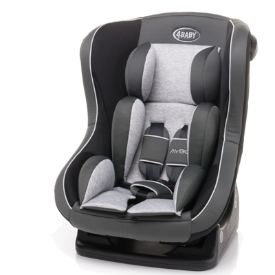 4Baby Aygo auto krēsls 0-18kg - Grey