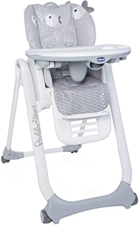 Chicco Polly 2 Start barošanas krēsls, Dots