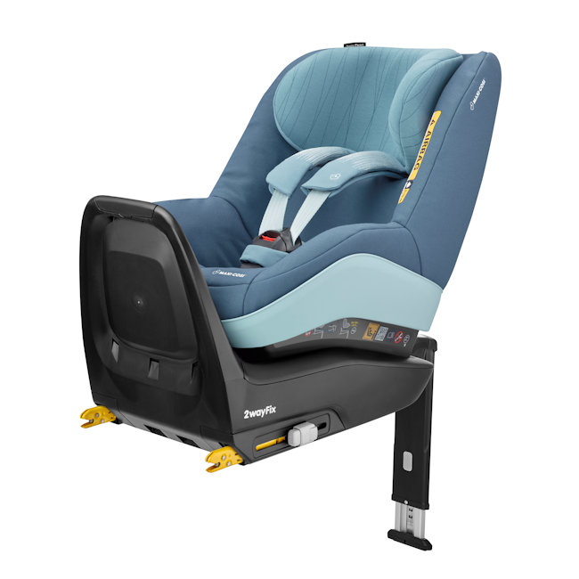 Maxi Cosi 2Way Pearl + 2way Isofix bāze - Frequency Blue