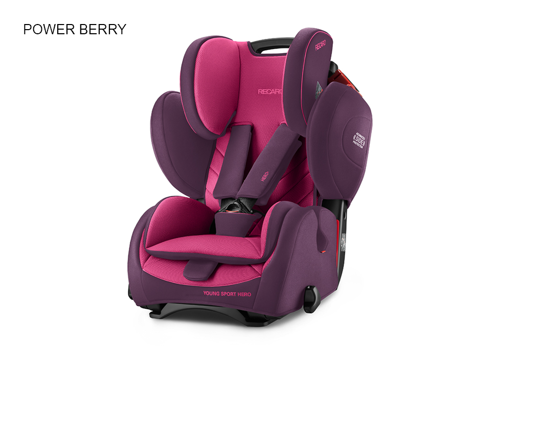 Recaro Young Sport Hero Power Berry