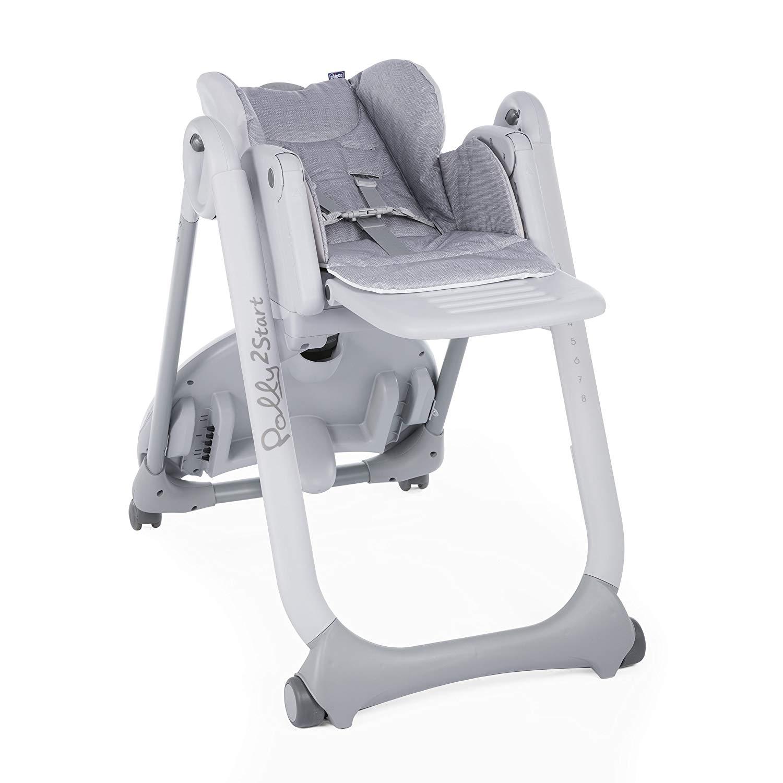 Chicco Polly 2 Start barošanas krēsls, Silver