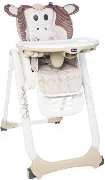 Chicco Polly 2 Start barošanas krēsls, Monkey