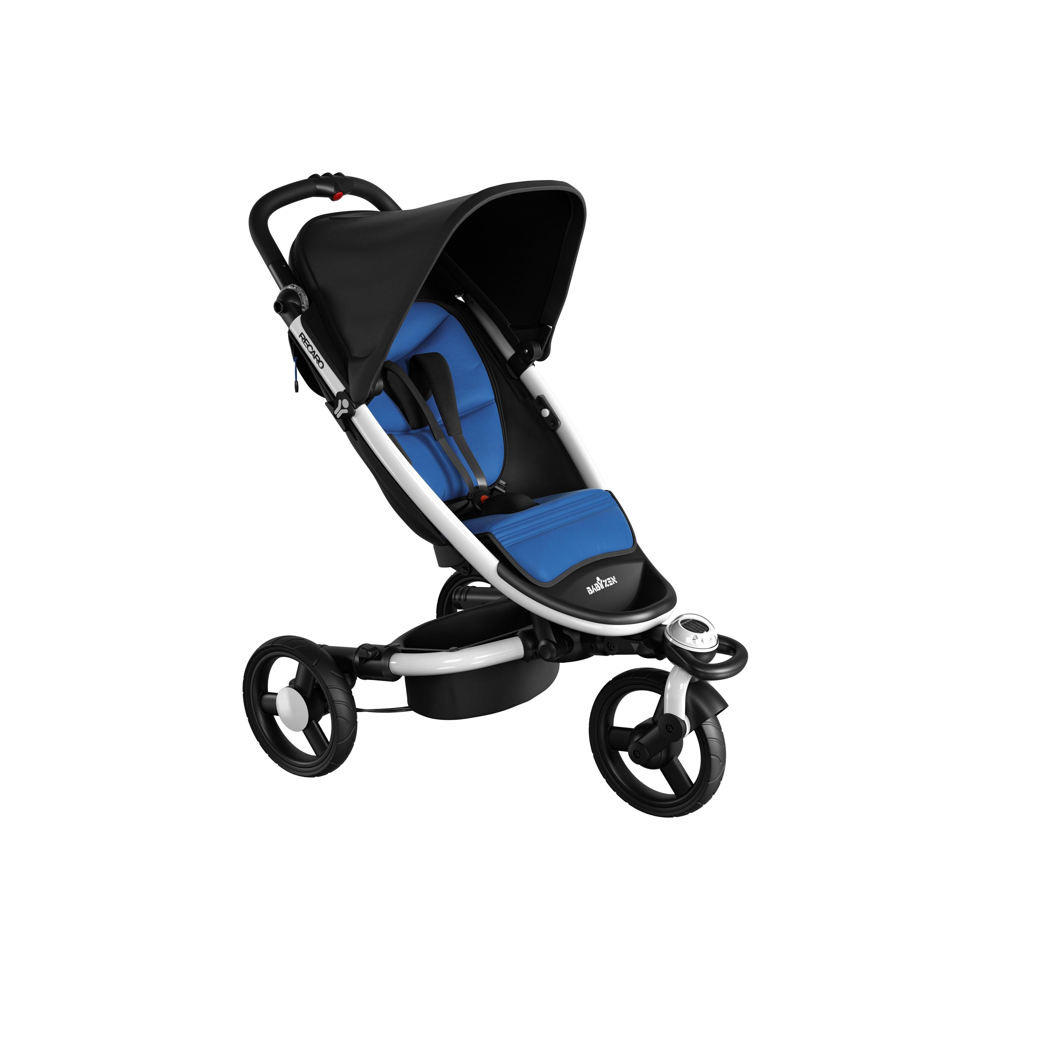 Recaro BabyZen ieliktnis sporta ratiem - Black/ Blue
