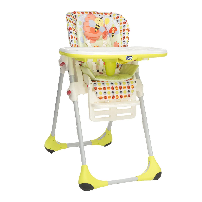 Chicco Polly 2in1 barošanas krēsls - Sunny