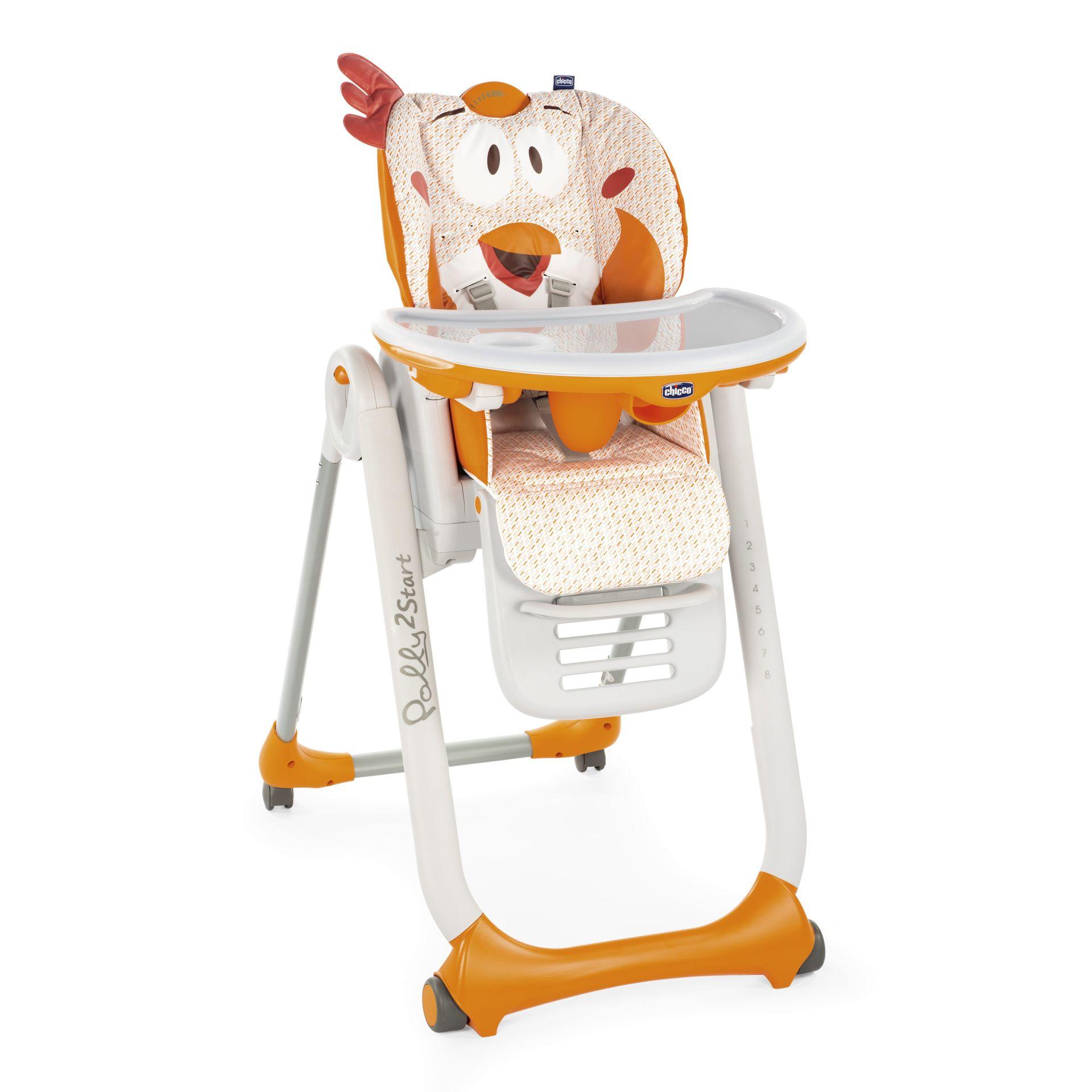 Chicco Polly 2 Start barošanas krēsls, Fancy Chicken