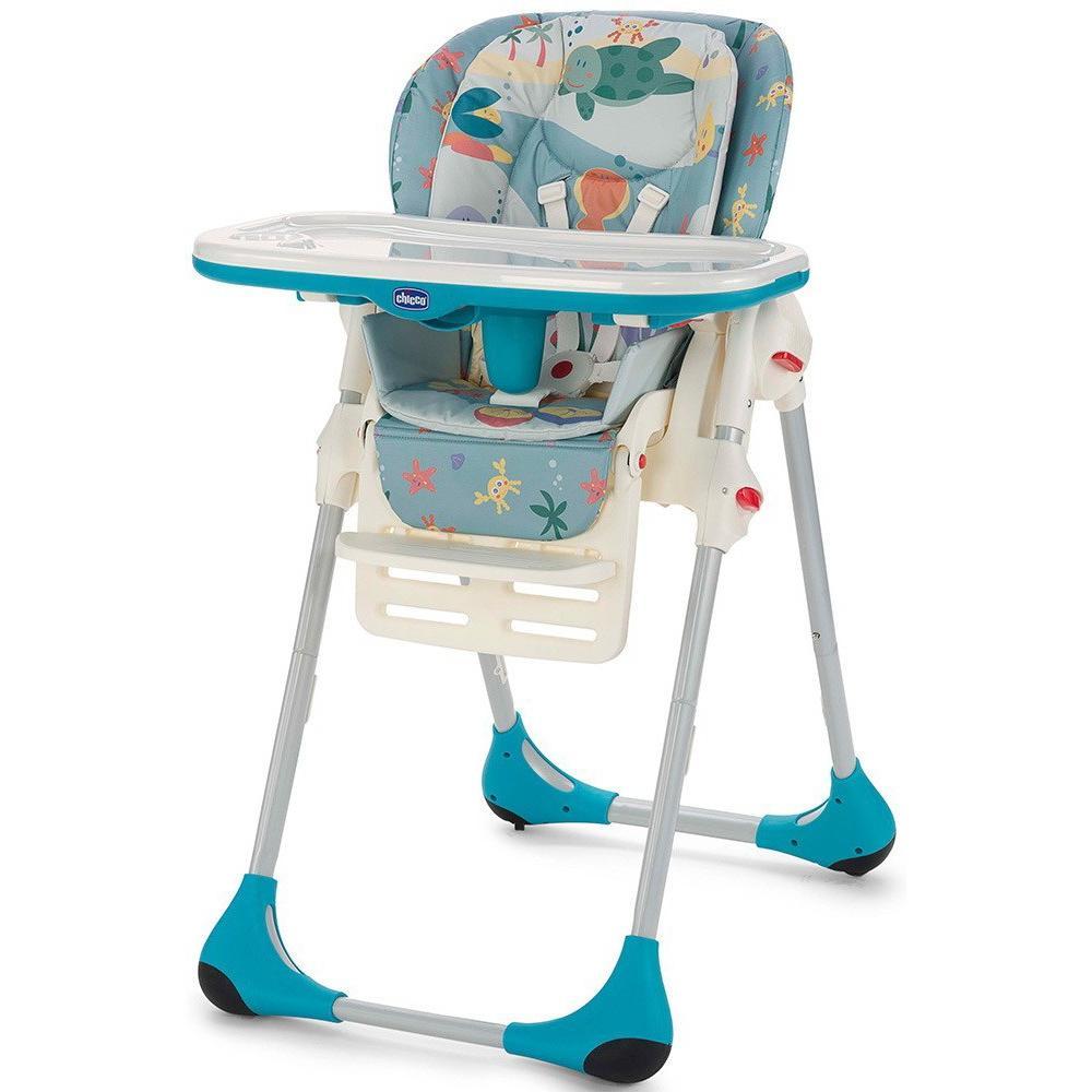 Chicco Polly 2in1 barošanas krēsls - Sea Dreams