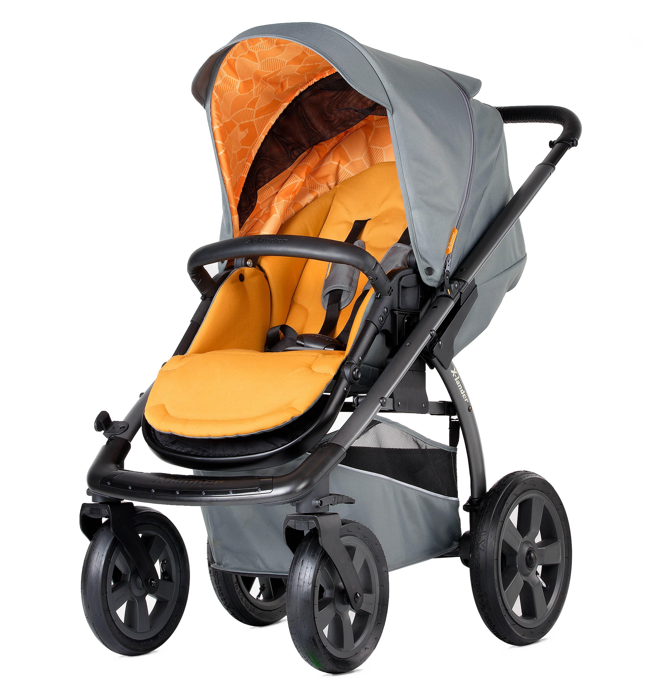X-Lander X-Move kombinētie rati 2in1 - Sunny Orange